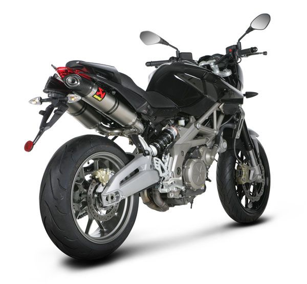 silencieux akrapovic pour aprilia shiver 750. Black Bedroom Furniture Sets. Home Design Ideas