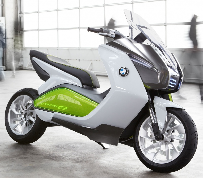 concept e tude de design d 39 un scooter lectrique bmw. Black Bedroom Furniture Sets. Home Design Ideas