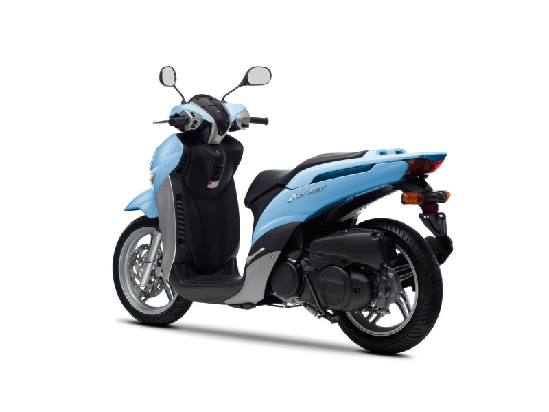 scooter yamaha xenter 125. Black Bedroom Furniture Sets. Home Design Ideas