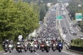 Plus 30000 motards manifestations 10 11 septembre