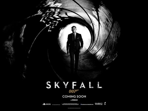 Affiche du film James Bond Skyfall