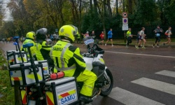 Motos SAMU, les motards secouristes (crédit photo : Thierry Jouvellier)