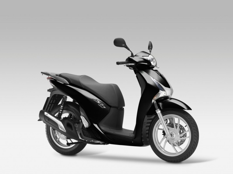 scooter honda sh 125 i 2013. Black Bedroom Furniture Sets. Home Design Ideas