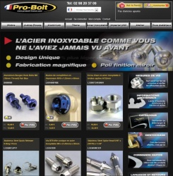 Pro-Bolt lance son site internet