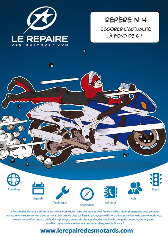 saga publicitaire le repaire des motards rep re n 4. Black Bedroom Furniture Sets. Home Design Ideas