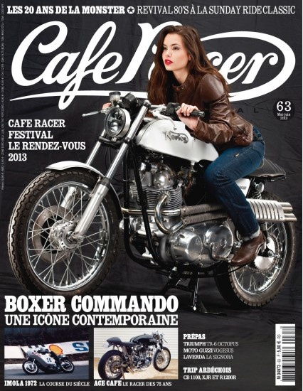caf racer le magazine des motos d 39 exception. Black Bedroom Furniture Sets. Home Design Ideas