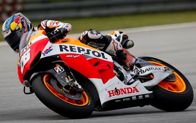motogp pedrosa domine le second test de sepang. Black Bedroom Furniture Sets. Home Design Ideas