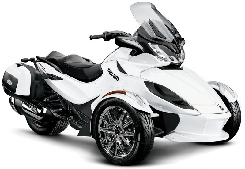 brp can am spyder st. Black Bedroom Furniture Sets. Home Design Ideas