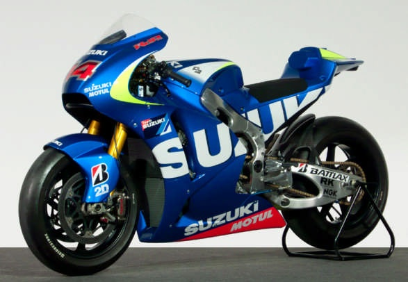 La motogp suzuki et de puniet au salon de la moto for Reduction salon de la moto