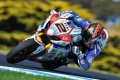 WSBK Camier t�te premiers tests officiels