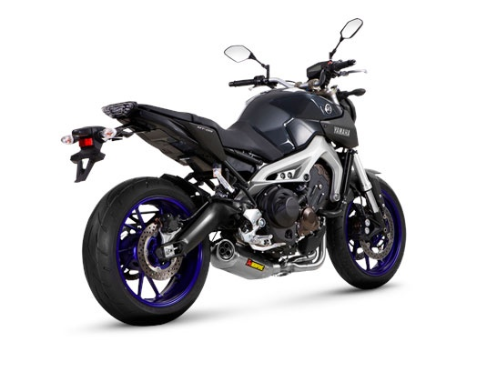 echappement akrapovic racing line pour yamaha mt 09. Black Bedroom Furniture Sets. Home Design Ideas