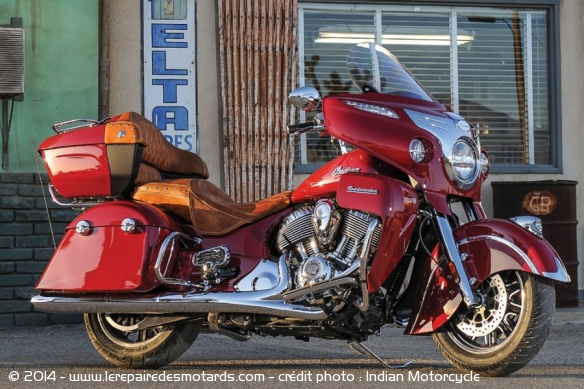 Custom Indian Motorcycle Roadmaster