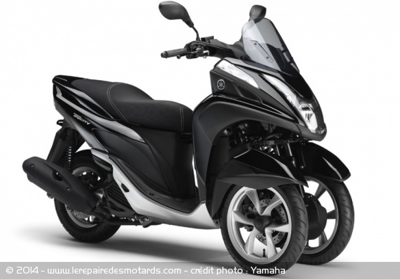 scooter 3 roues yamaha tricity. Black Bedroom Furniture Sets. Home Design Ideas