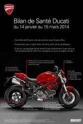 contr le technique gratuit chez ducati. Black Bedroom Furniture Sets. Home Design Ideas