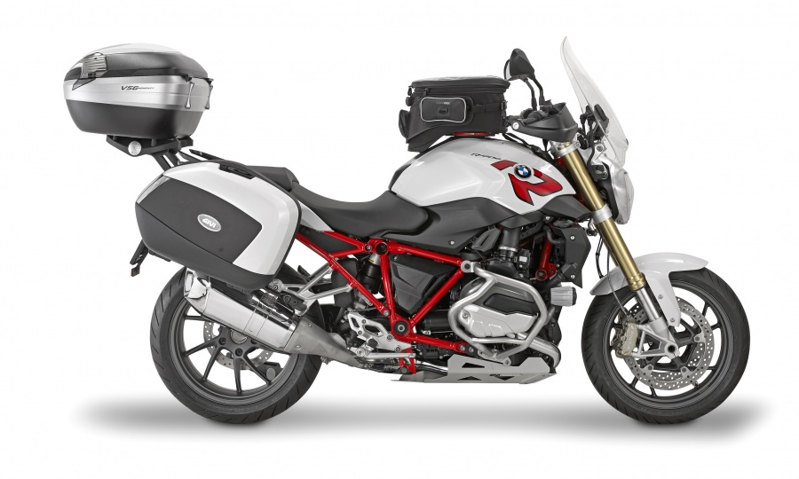 Givi Transforme La Bmw R1200r En Grande Routi 232 Re