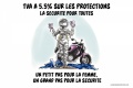 Parlement adopte réduction TVA protections