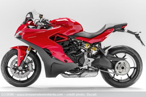 Ducati 939 SuperSport de profil