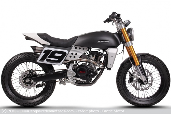 Fantic Caballero 125 version Flat track