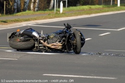 Contresens sur l'A36 : 2 motards grièvement blessés (photo d'illustration)