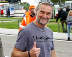 Highside et fractures pour Carl Fogarty - crédit photo : David Reygondeau