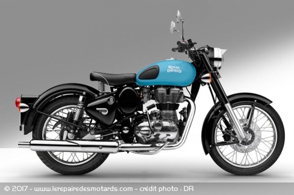 Royal Enfield 350 Classic Redditch Blue