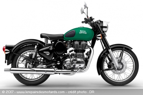 Royal Enfield 350 Classic Redditch Green