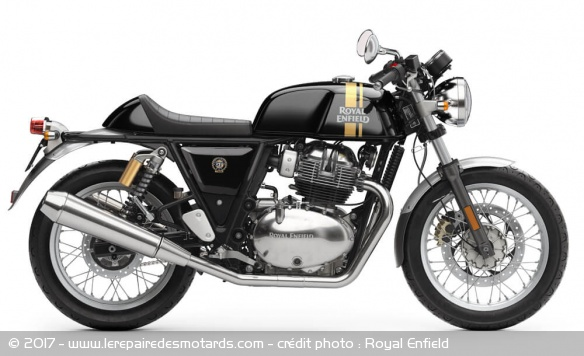 Royal Enfield 650 Continental GT noire