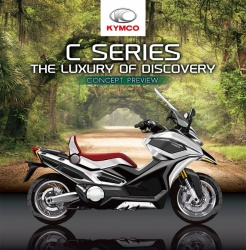 Scooter Kymco Concept C-Series