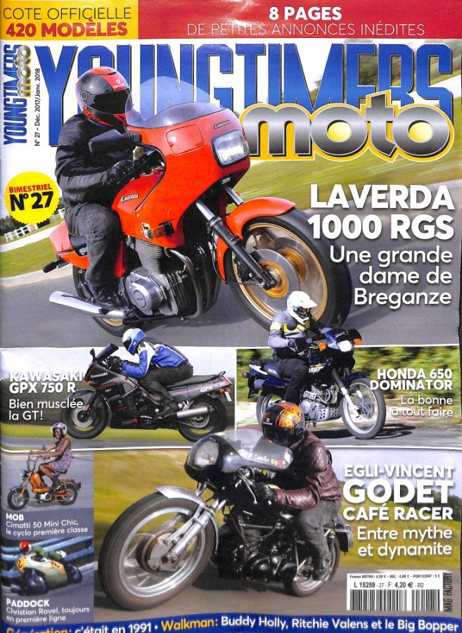 Revue Youngtimers Moto n°27
