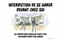 Crobard   Interdiction garer chez soi