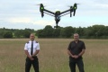 Les drones entrent police anglaise