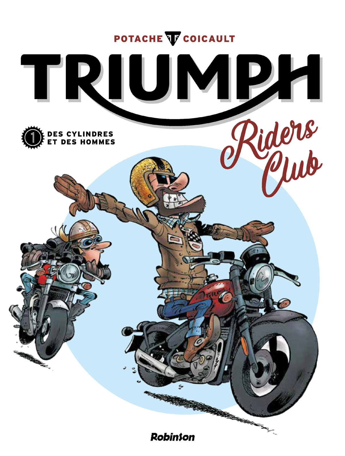 Bande Dessinée: Triumph Riders Club