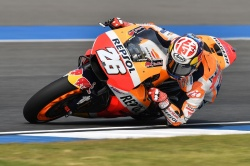 Test MotoGP : Pedrosa domine à Buriram - Crédit photo : Honda