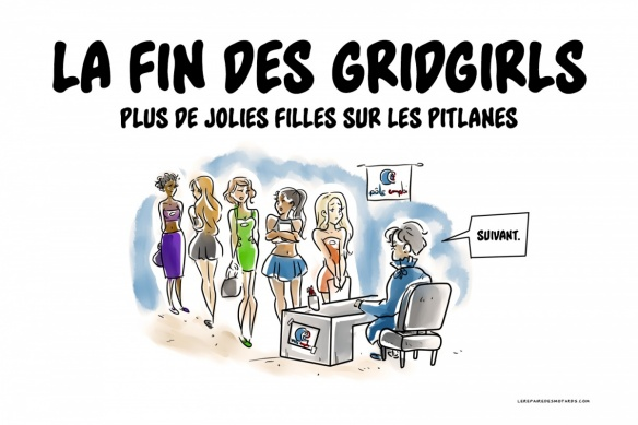 Crobard : la fin des Grid Girls