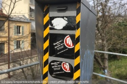 Destruction massive de radars par les gilets jaunes