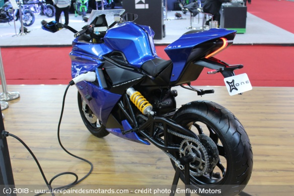 Emflux One : la supersport élecrique indienne