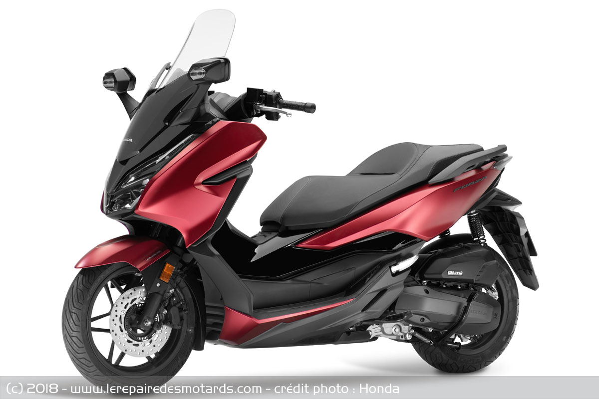 scooter honda forza 125. Black Bedroom Furniture Sets. Home Design Ideas