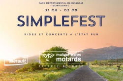 Simple Fest : balades motos et concerts
