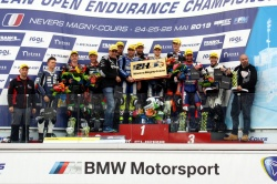 Le podium final des 12H Nevers Magny-Cours - Crédit photo : Circuit de Nevers Magny-Cours