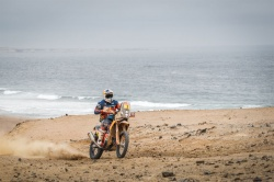 Dakar : Walkner s'impose, Price aux commandes - crédit photo : Frederic Le Floc'h / DPPI