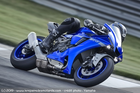 La YZF-R1 2020 sera disponible dès septembre