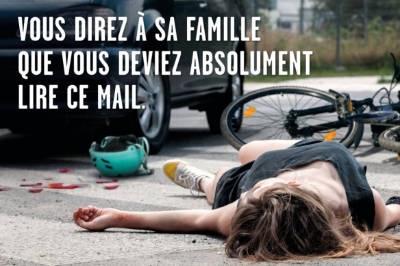 Accidents et morts à vélo