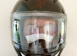 The deadly danger of wearing a motorcycle mask