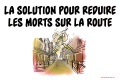 solution morts routes