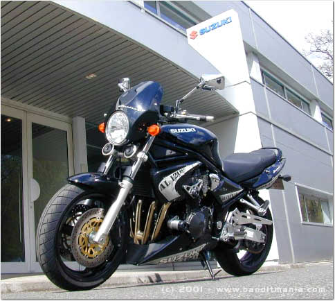 suzuki bandit 1200 une moto en s rie limit e alcatraz. Black Bedroom Furniture Sets. Home Design Ideas