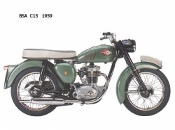BSA C15 (crédit photo : DR)