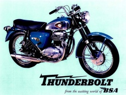 BSA Thunderbolt (crédit photo : DR)