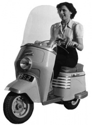 Scooter Bernardet E.51 (Photo : DR)