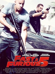 Film moto : Fast and Furious 5