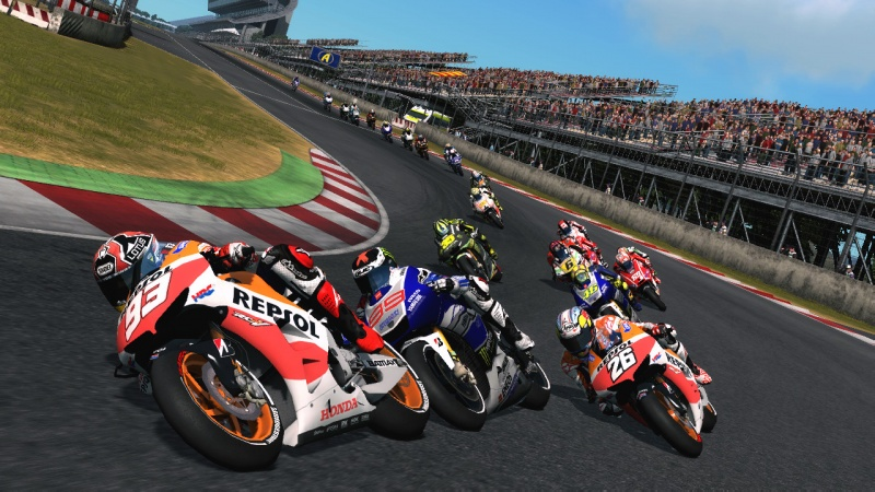 test de motogp 13. Black Bedroom Furniture Sets. Home Design Ideas